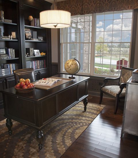 Traditional Home Office Design, Pictures, Remodel, Decor