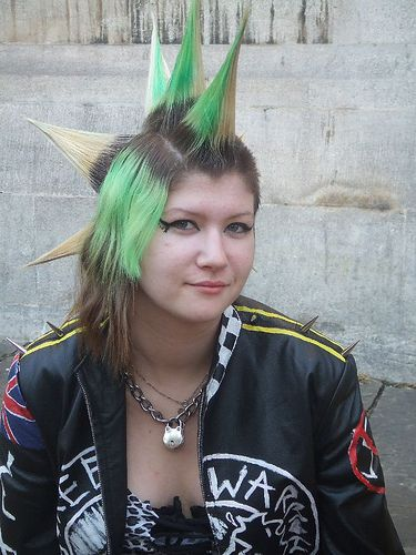 Punk. great punk style.