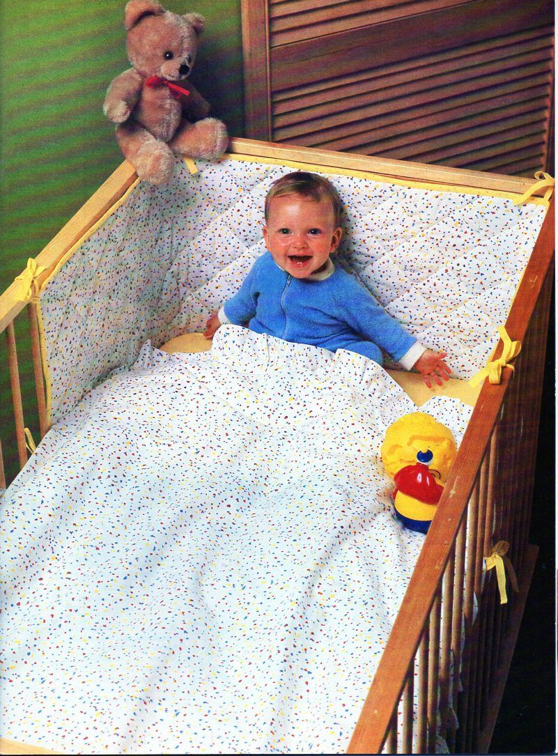 Baby Cot Set Sewing Pattern Pdf Instructions To Make Cot Duvet Cover Bumper Fitted Sheet To Fit Mattress 119 5x56x7 5cm Pdf Instant Download Cot Duvet Baby Cot Sets Duvet Cover Pattern