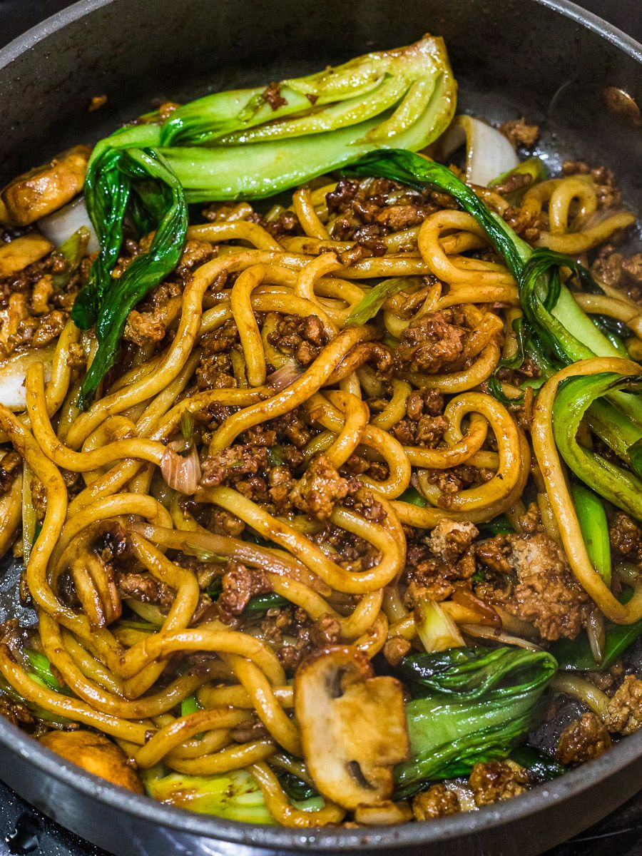 Yaki Udon Stir Fried Udon Noodles Recipe Yaki Udon Udon Noodles Recipe Fried Udon