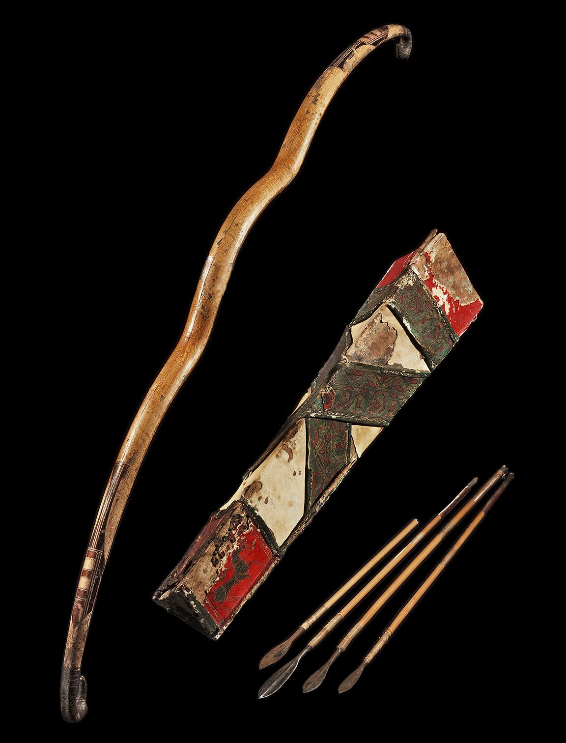 Ancient Amp Medieval History Scythian Bow And Arrows 3rd