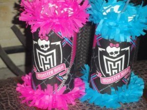 13 Monster High Birthday Party Mini Pinatas Goody Bags Favors