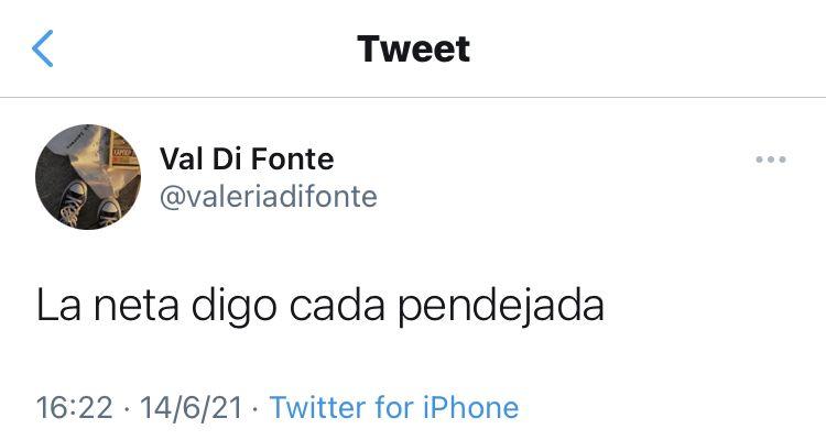 @valeriadifonte on Twitter <3