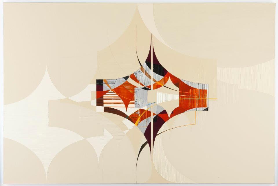 color palette, Alex Couwenberg & Karl Benjamin: Influence, Divergence & the Evolution of an Idea   ArtweekLA - Art Here Now
