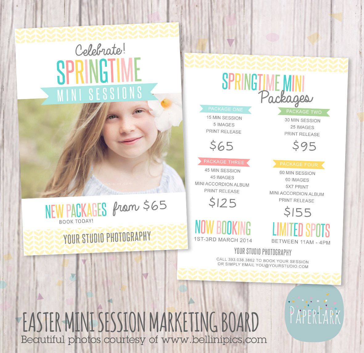 spring marketing board template ie010 paper lark designs