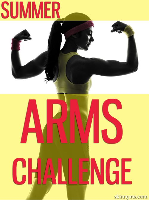 Summer Arms Challenge. Includes the 4 minute fat blaster workout, which boosts your metabolism and helps you burn extra fat for up to 36 hours after completing.