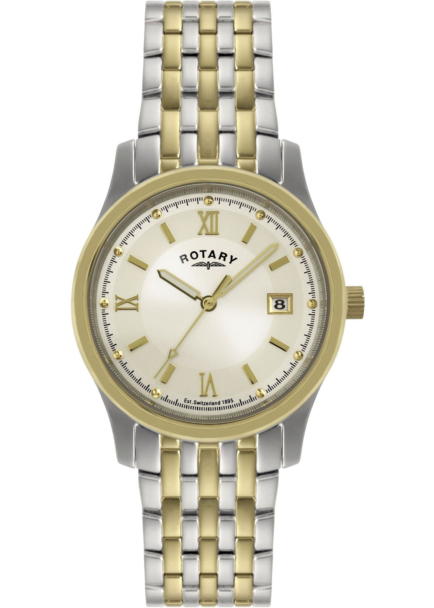 Tone Men's Two Rotary Champagne WatchWatches jL3Rq54ScA