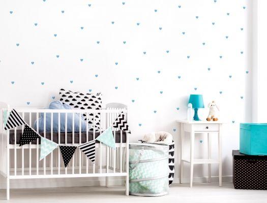Babyzimmer Wandsticker ~ Besten wandsticker herzen für eine liebevolle dekoration bilder