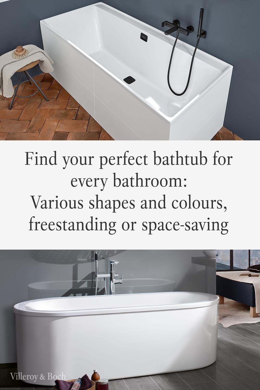Find The Perfect Bathtub Solution For Your Bathroom In 2020 Badewanne Badezimmer Bad