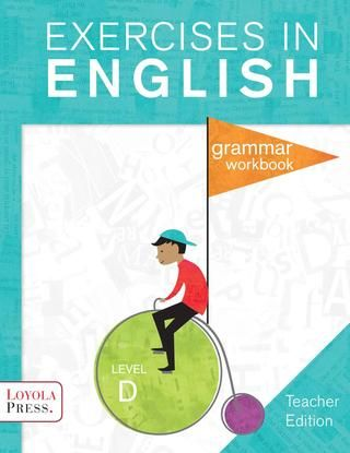 Loyola Press Issuu Grammar Workbook Teacher Exercise