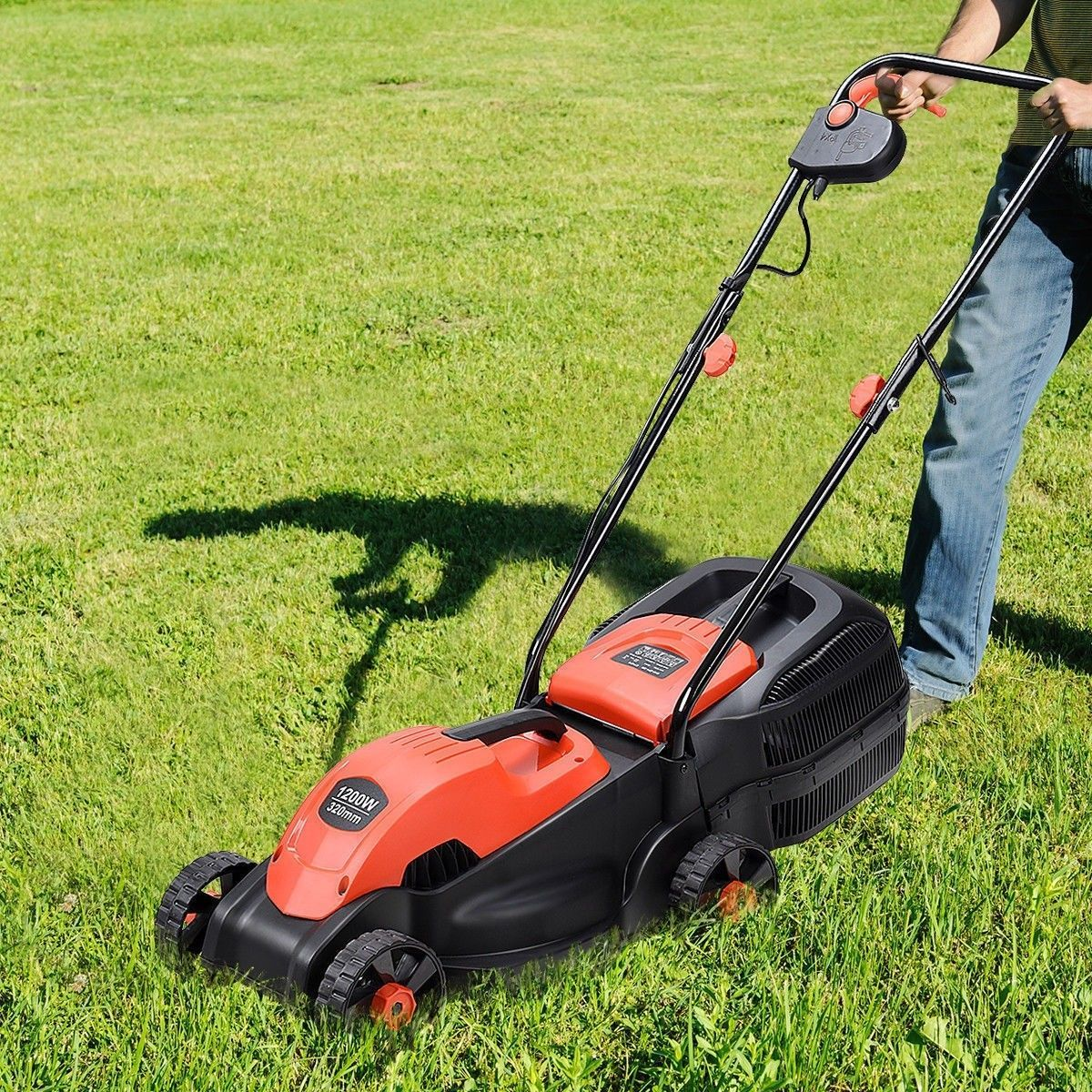 10 Best Corded Electric Lawn Mower Buying In 2020 Push Lawn Mower Lawn Mower Electric Mower