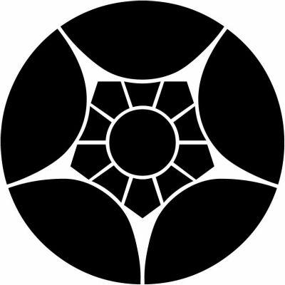 家紋 割り梅鉢 Wariumebachi 家紋 図鑑 検索