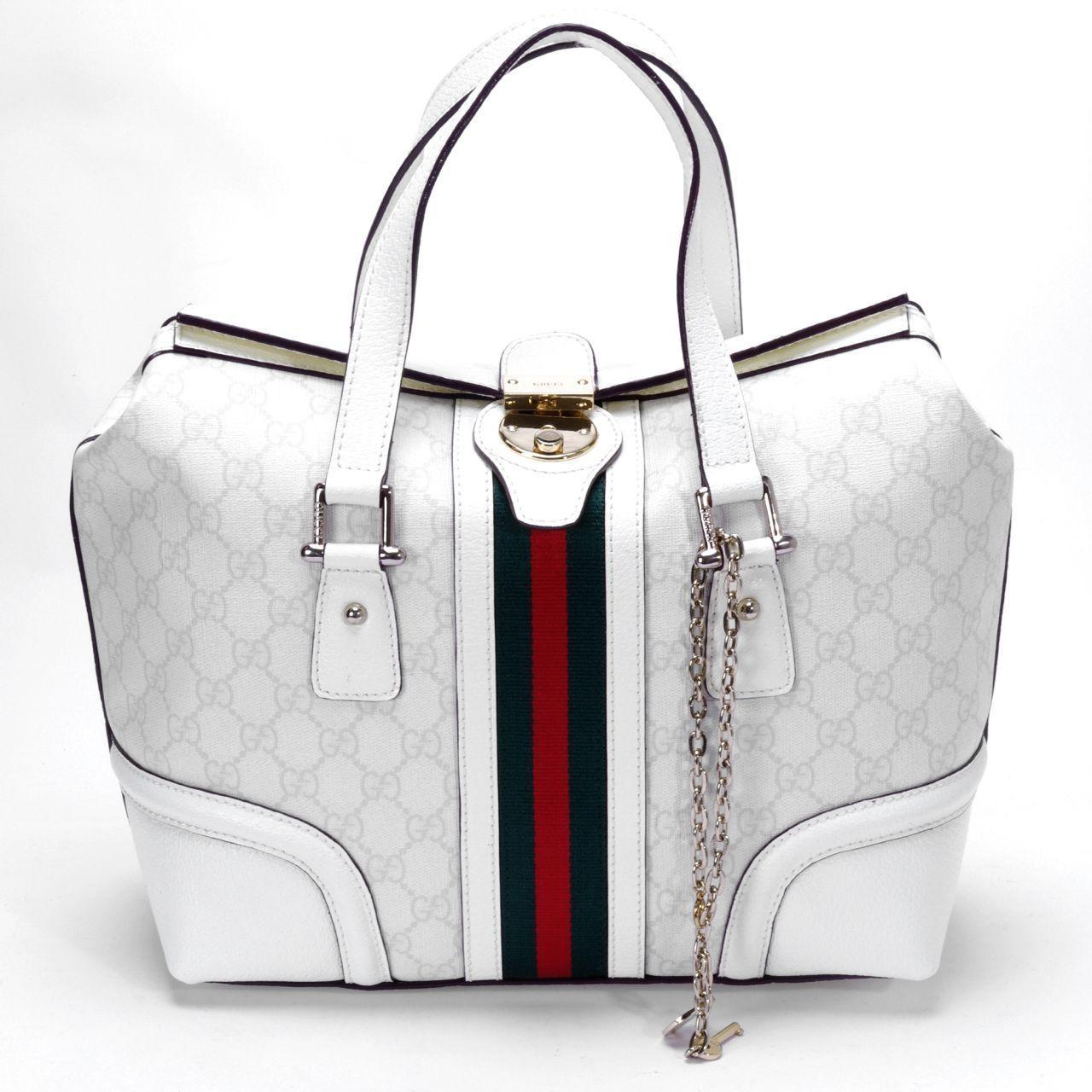 White Gucci Handbag Summerswag