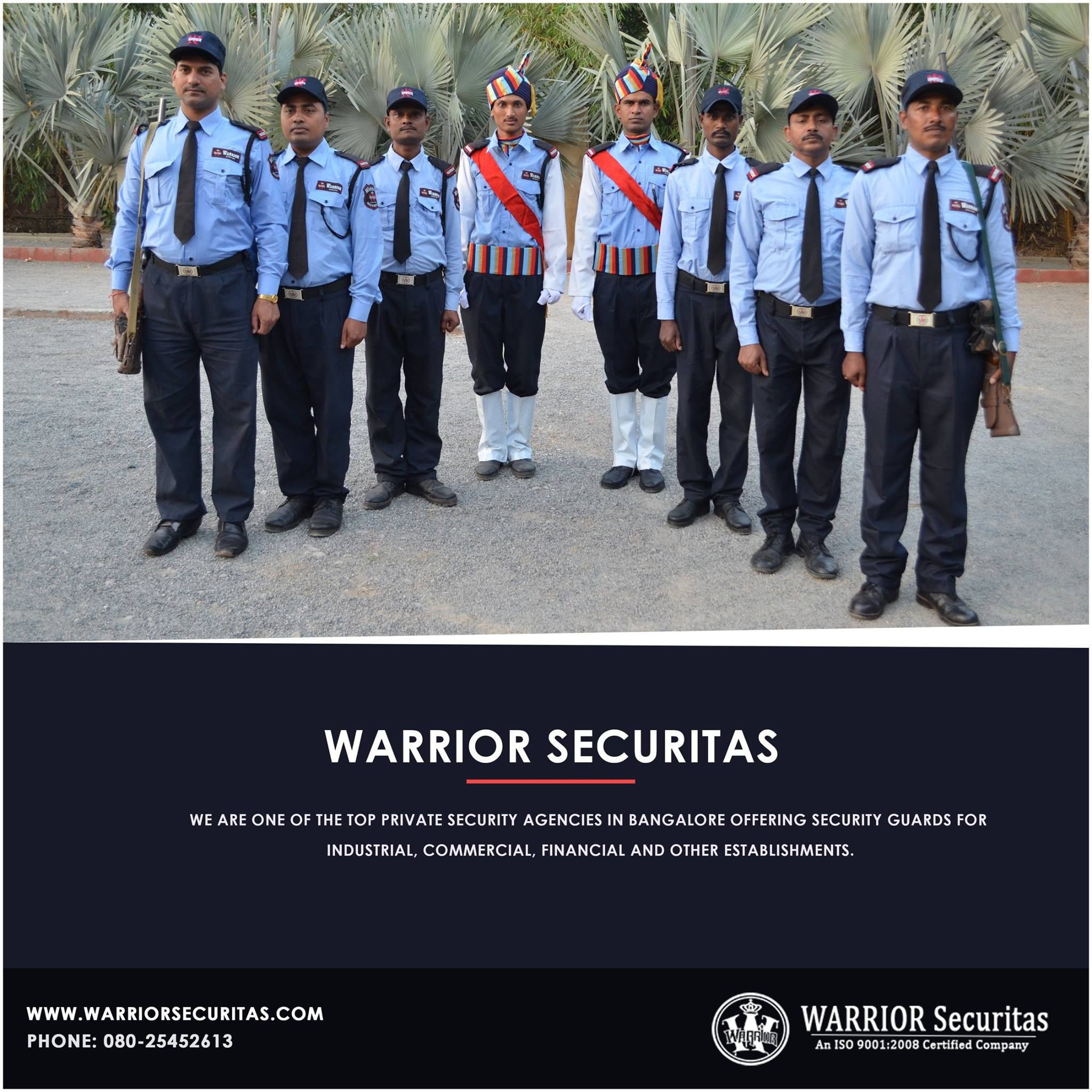 Looking for Bangalore security services? Warrior Securitas