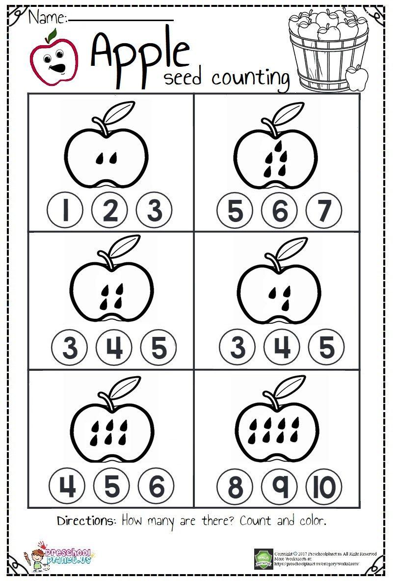 Missing Number Worksheet Pdf   Preschoolplanet ...