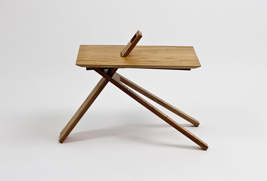 Great TRIPOD WOOD SIDE TABLE By Noon Studio Nice Ideas