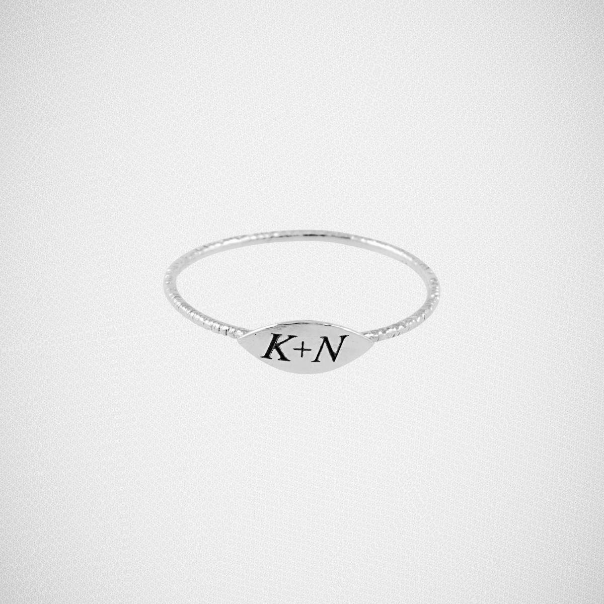 Unity Ring [14K white gold] Unity ring, 14k rings, Unity