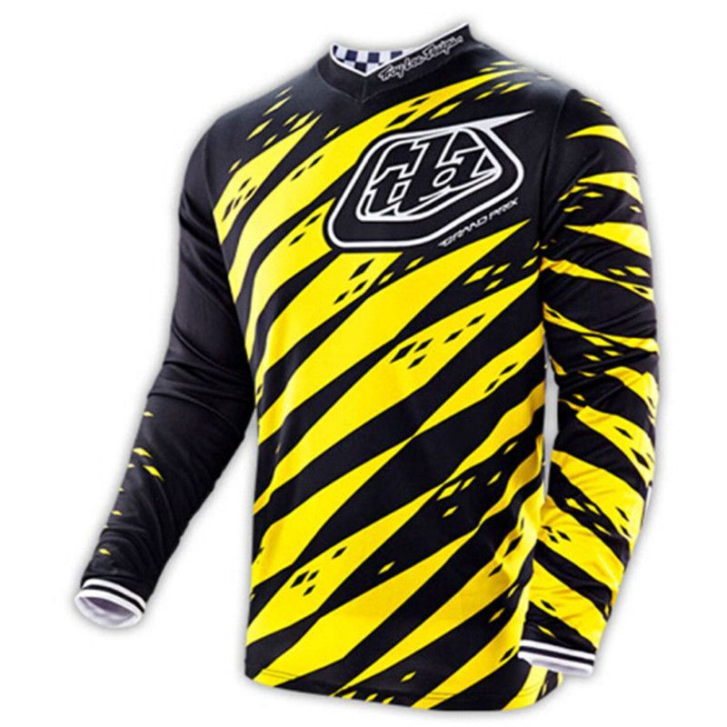 2016 NEW TLD Troy Lee Designs shipping New style BMX T-shirt motocross T  shirt Downhill MX ATV MTB Moto Tshirt 79acedbe2