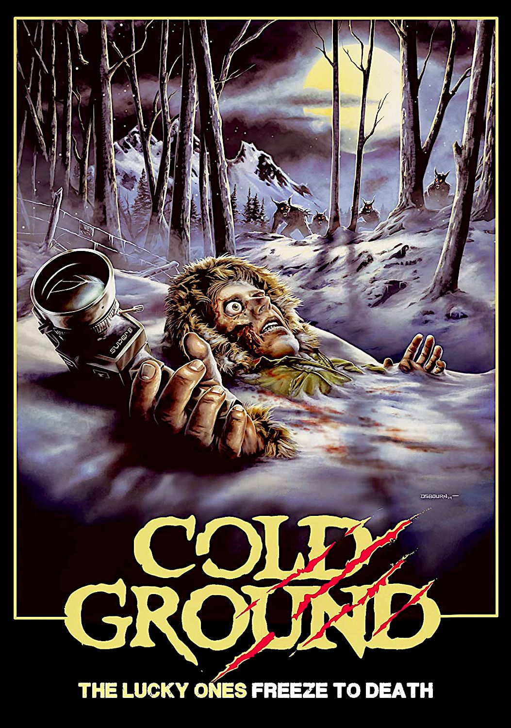 Cold ground dvd wild eye releasing horror posters