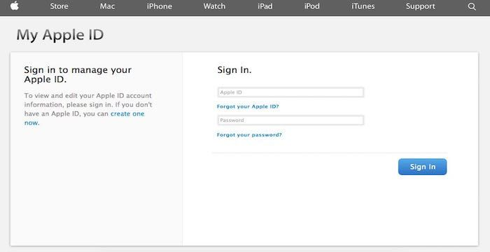 login Apple iTunes Sign In Account
