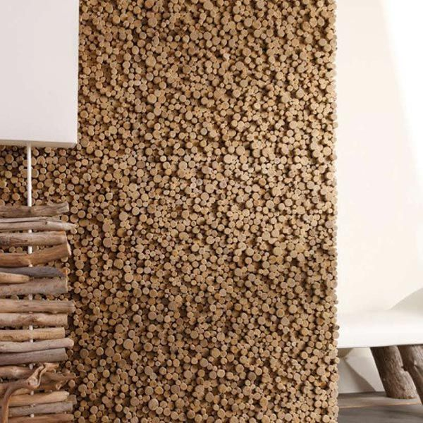 wood wall surfaces Design Trends Embrace Nature : Wooden Wall ...