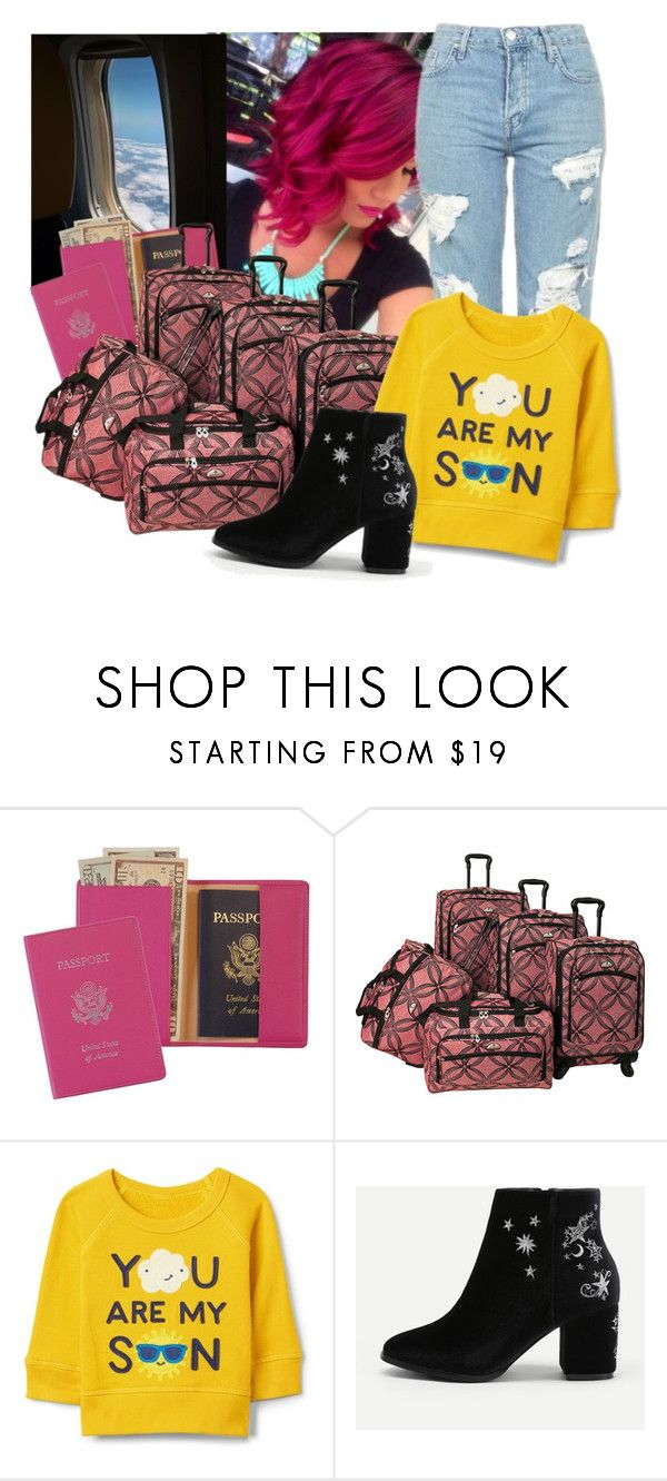 """💗💗💗"" by maiiira-nair ❤ liked on Polyvore featuring Royce Leather and American Flyer"