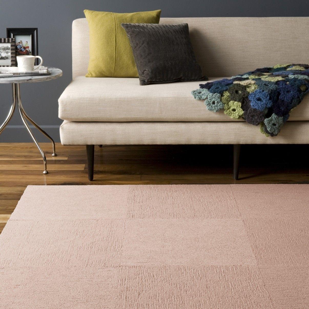 Buy Solid Feelin Groovy Blush Carpet Tile At Flor Carpet Tiles Yellow Carpet Feelin Groovy