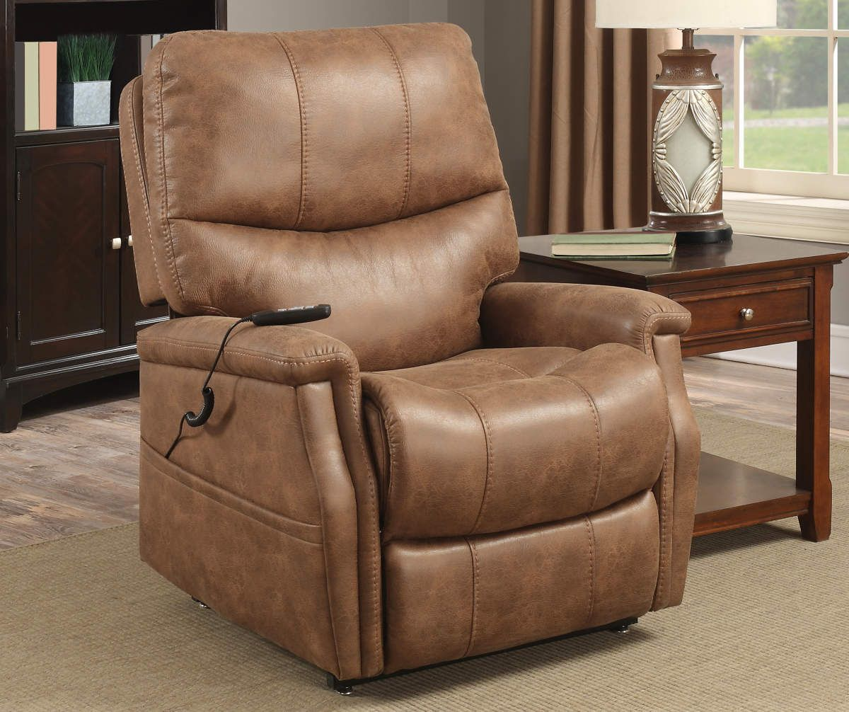 Brown Faux Leather Dual Motor Lift Chair Big Lots in