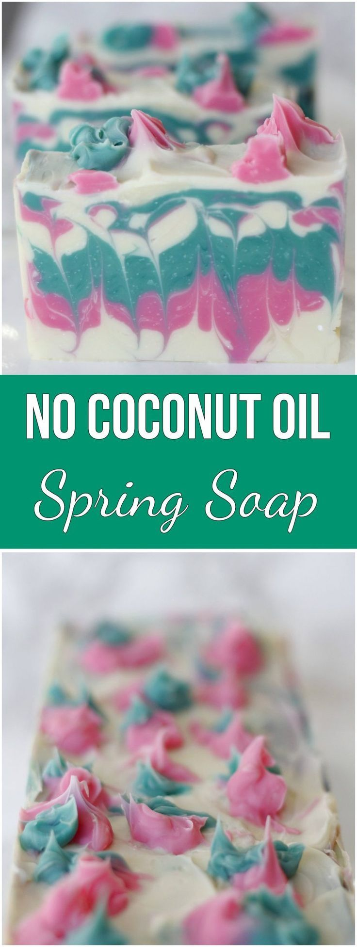Splendid Spring Soap (Coconut Oil Free Soap) -