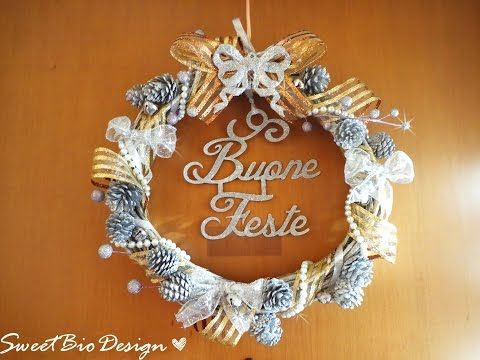 Tutorial: Ghirlanda delle Feste - Holidays Garland - YouTube