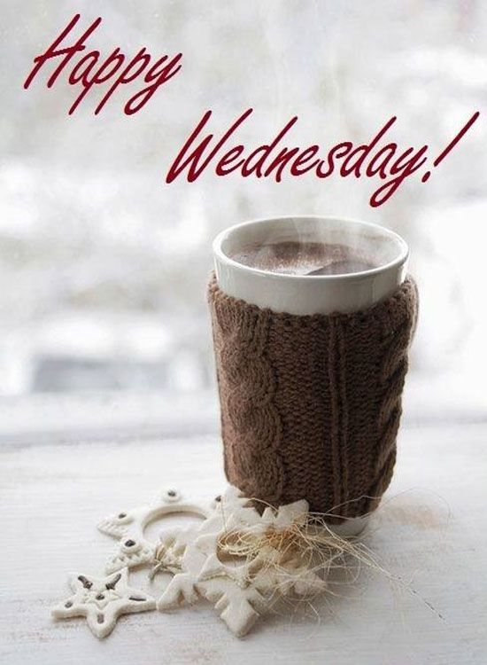 Happy Wednesday! Stay warm have a good day! ☕️
