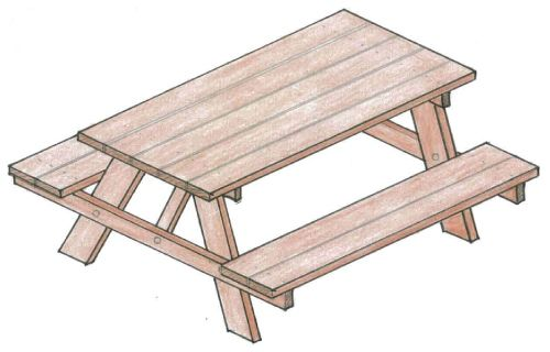 Wondrous 50 Free Diy Picnic Table Plans And Ideas That Will Bring Pabps2019 Chair Design Images Pabps2019Com