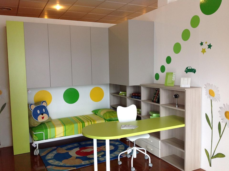 Siloma Camerette ~ Siloma furniture in the kidsroom nursery