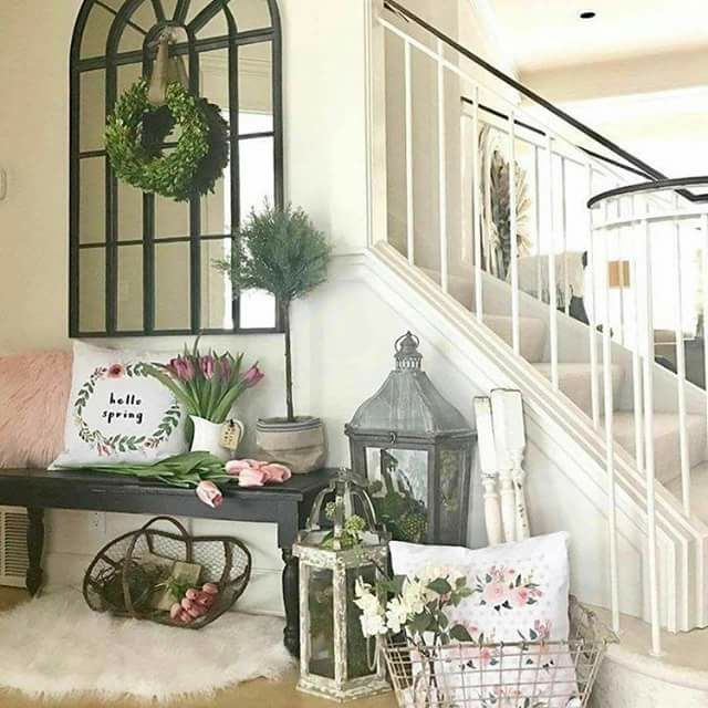 Front Entryway Decorating Ideas The Design Twins: Pin By Elionora Bjur On Home Decor