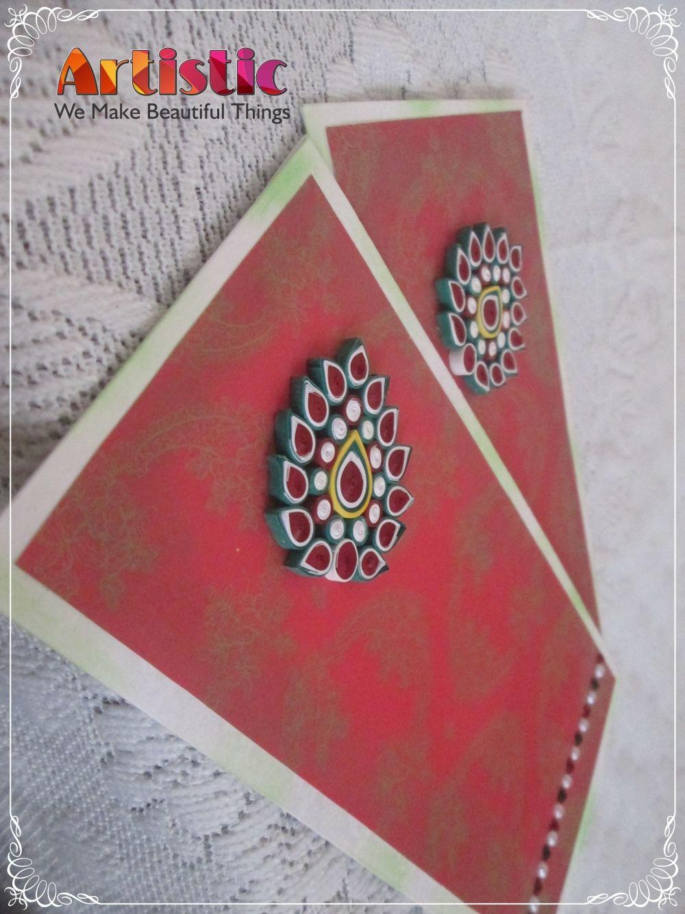 quilling envelopespaper  handmade envelopes quilling