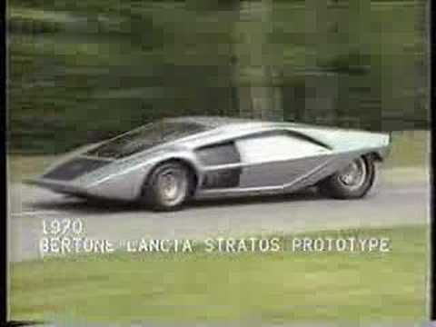 Incredibly Cool Lancia Stratos Prototipo And Cool Jean Michel - Cool cars music
