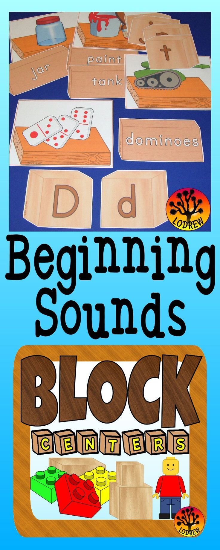 102 pages of block themed centers. Activities include literacy, math ...