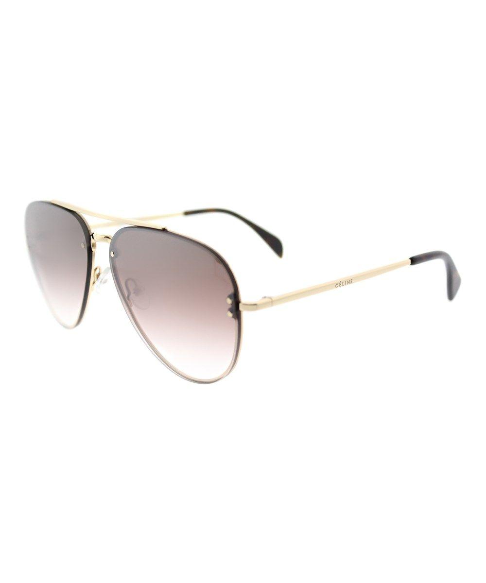 b343d0495229 CELINE Small Mirror Aviator Metal Sunglasses'. #celine #sunglasses ...