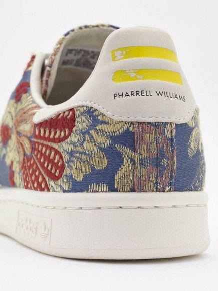 "079eedf2a28f0 Pharrell Williams x adidas Stan Smith ""Floral"" Jacquard Pack ..."