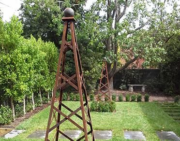 garden obelisk metal Google Search Garden obelisk