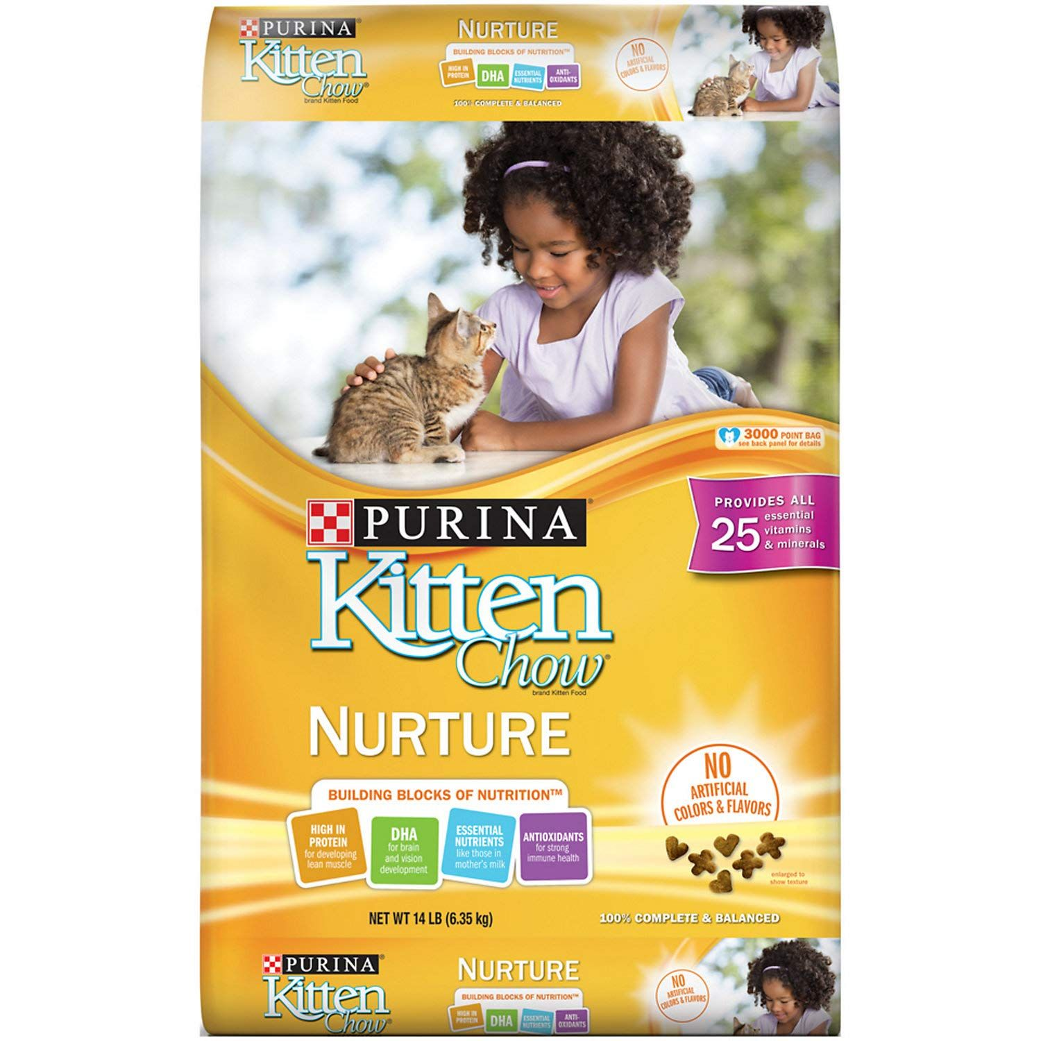 Purina Kitten Chow Nurturing Formula Dry Cat Food Cat Products