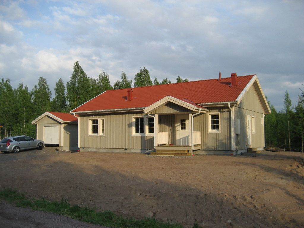 Älvsbytalo - Melatar, 4h+k+s, 101,5 m².