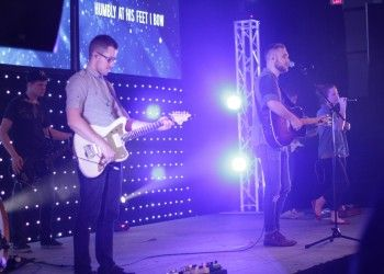 VintageChurchStage2 #churchdesign #videowall #lights #worship