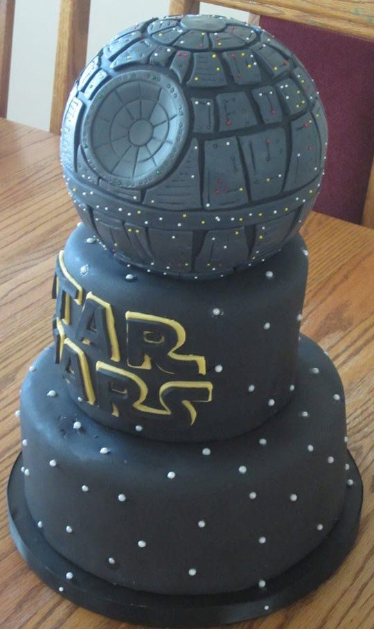 coole star wars todesstern torte death star cake geburtstagtorte pinterest todesstern. Black Bedroom Furniture Sets. Home Design Ideas