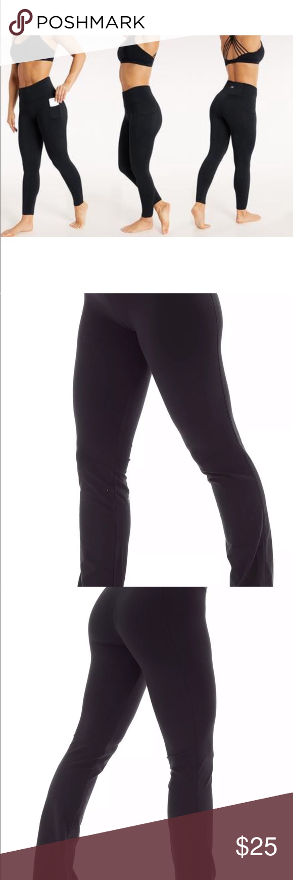d4dbde902f3d64 Bally total fitness tummy control yoga pants Bally Total Fitness Womens 18%  spandex Tummy Control