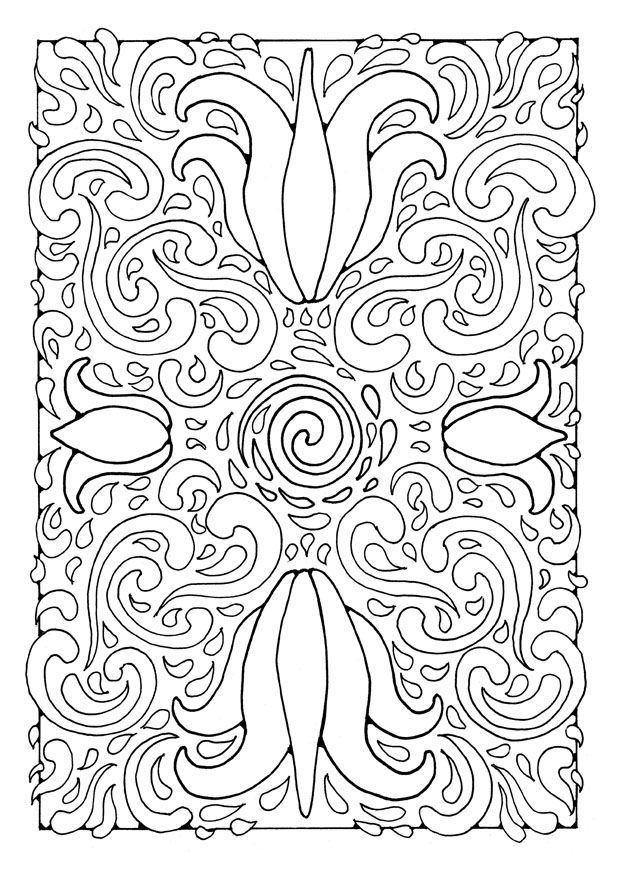 Mandala 21897 Okul Oncesi Etkinlik Mandala Boyama Sayfalari Desenler