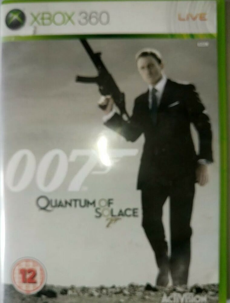 Quantum of Solace (Xbox 360) VideoGames | vyvyvyv | Xbox