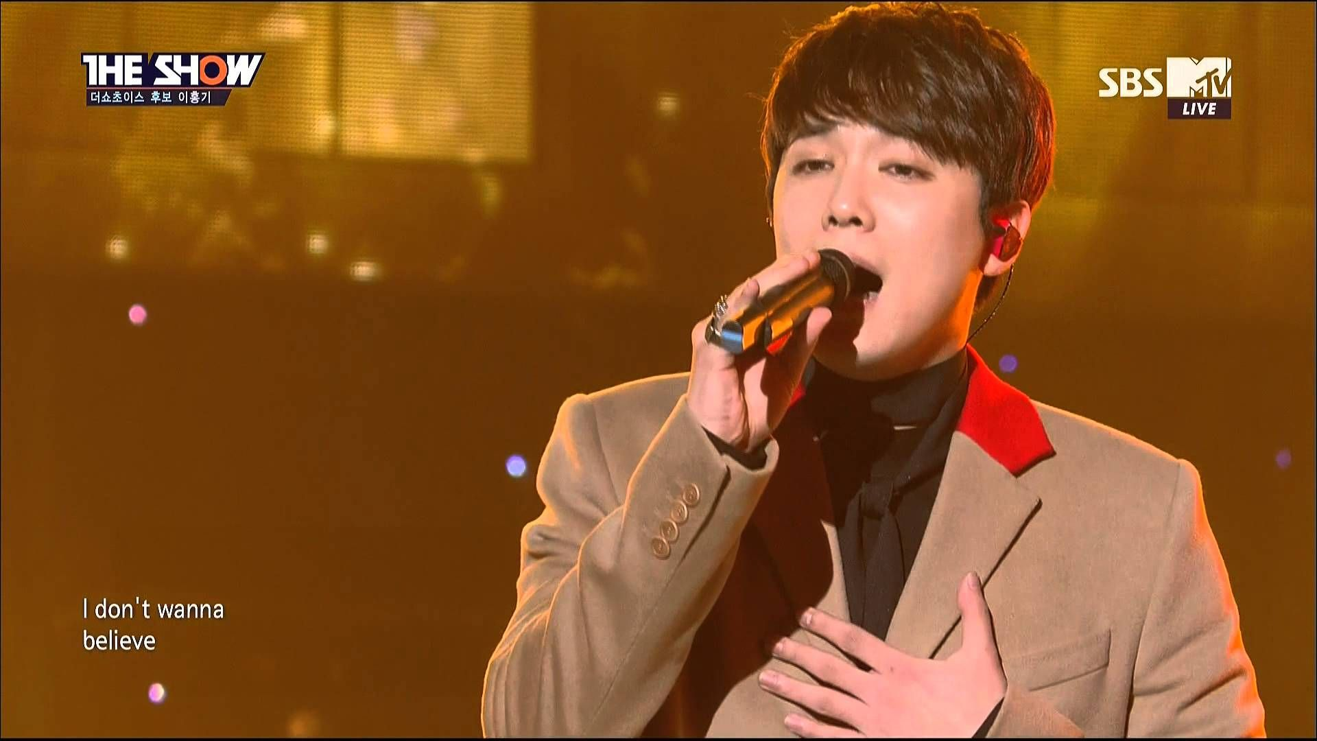 151124 LEE HONG GI (이홍기) - Insensible (눈치 없이) @ THE SHOW 더쇼
