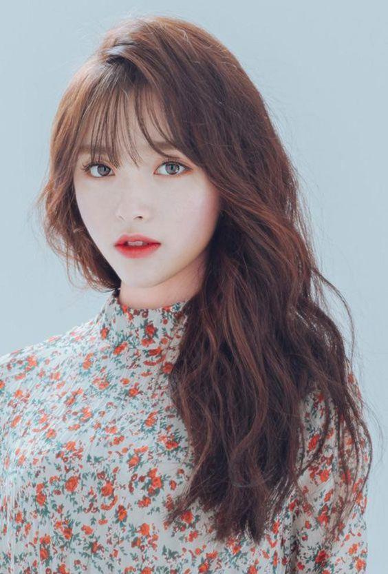 Amazing Wispy Bangs For Girls Women S 2019 Korean Bangs Hairstyle Korean Hairstyle Long Korean Hairstyle