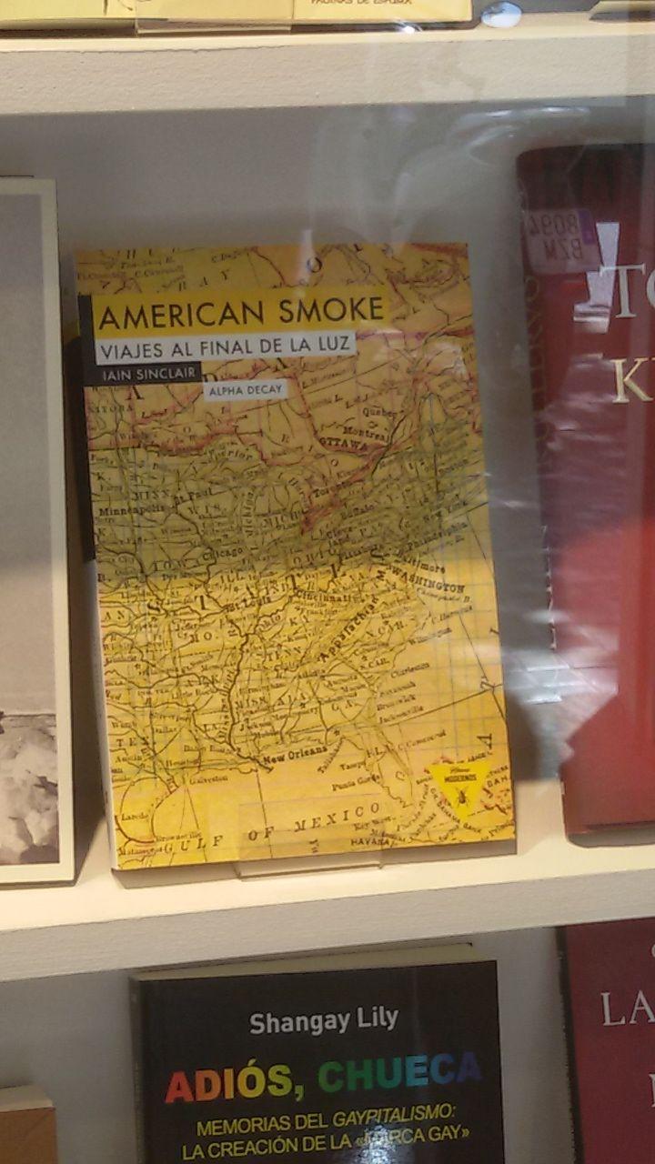 """American Smoke"" de Ian Sinclair. Alpha Decay"